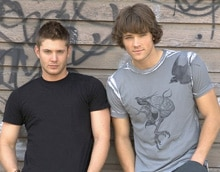 Supernatural's Jensen Ackles and Jared Padalecki (click to see it bigger!)