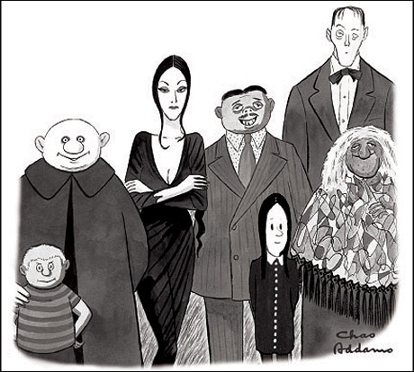 More Animated Addams Family Talk