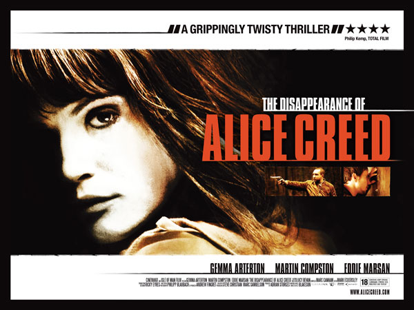 Early Details and Trailer for The Disappearance of Alice Creed