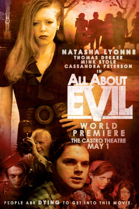 Special Poster and Details for All About Evil's World Premiere