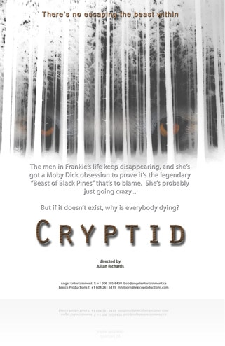Sales Art and Synopsis: Julian Richards' Cryptid