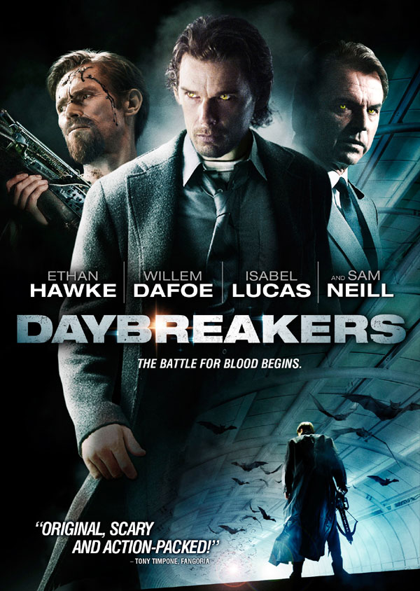 Daybreakers Artwork and Blu-ray / DVD Details