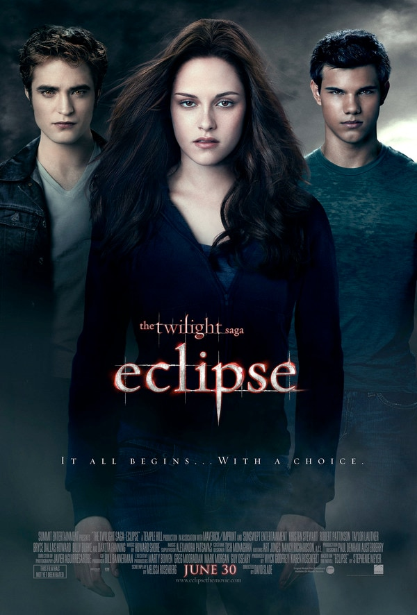 New Twilight Saga: Eclipse One-Sheet Revealed