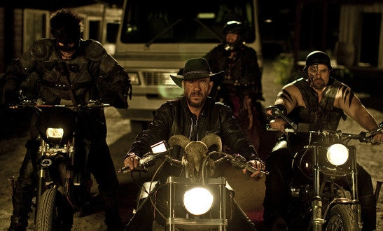 Katharine Isabelle and Miguel Ferrer Take a Hard Ride to Hell