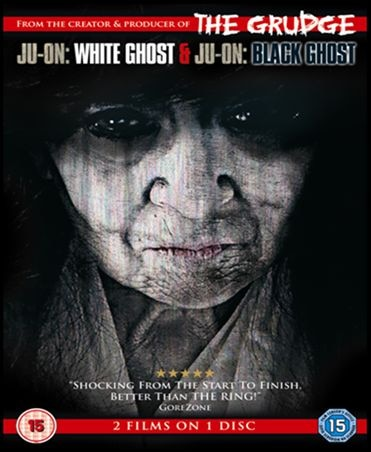 UK Trailer and DVD Art: Ju-on: White Ghost / Ju-On: Black Ghost