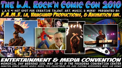 New Convention Coming in May: Los Angeles Rock'n Comic-Con