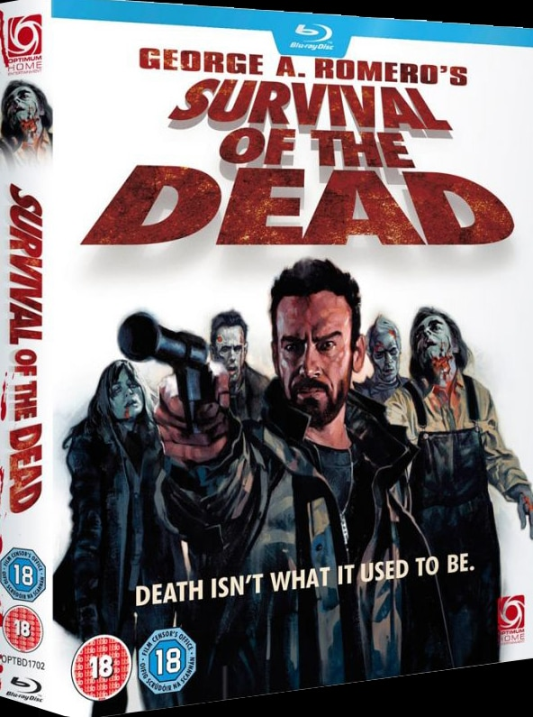 Survival of the Dead UK Blu-ray Art