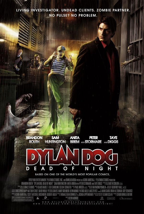 Final Dylan Dog One-Sheet Sporting the Undead