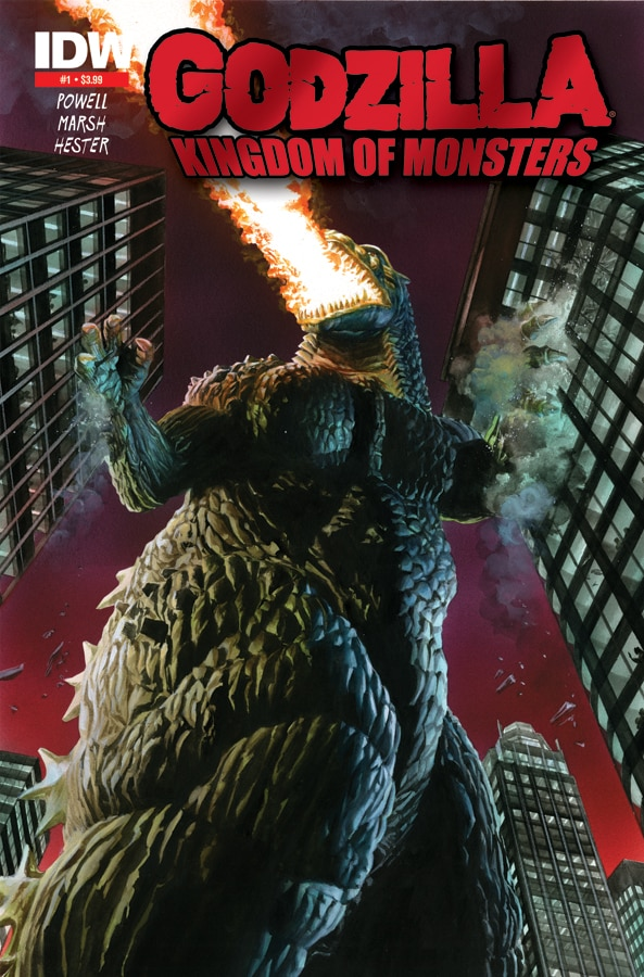 Godzilla: Kingdom of Monsters #1 Sells Out in One Day; Second Printing Coming!