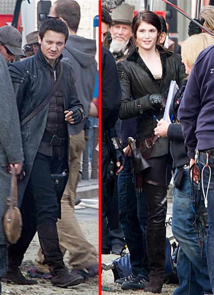 Hansel and Gretel: Witch Hunters - Jeremy Renner and Gemma Arterton are Dressed to Kill