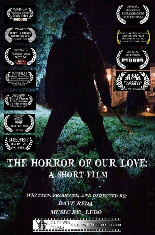 Exclusive Online Debut of Dave Reda's The Horror of Our Love: A Short Film