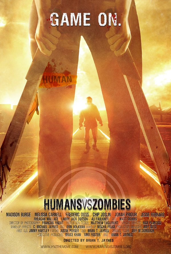 Brian T. Jaynes' Humans Versus Zombies Comes Home to DVD in May