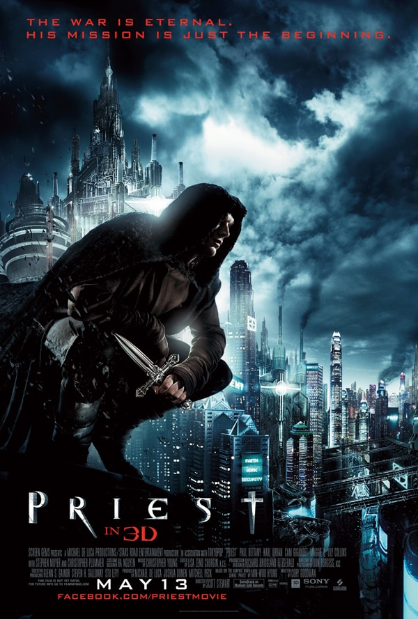 New Priest One-Sheet Perched and Ready to Pounce