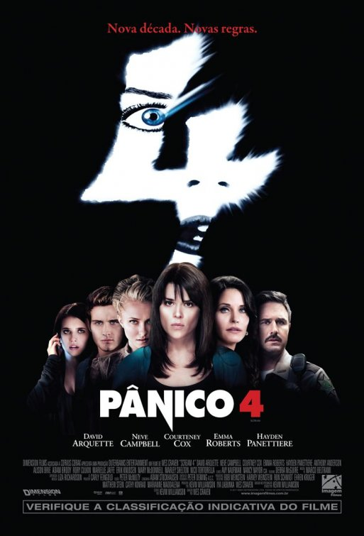 Latest Scream 4 International One-Sheet Sends You into a Pánico