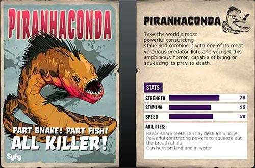 Piranhaconda Revealed - At Least Its Head