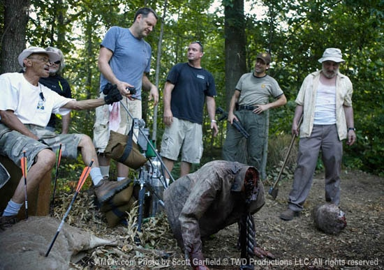 New Behind-the-Scenes Photos from The Walking Dead Season One