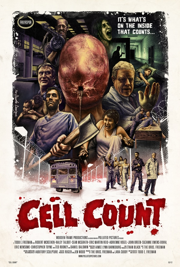 Cool New Artwork for Cell Count by The Dude Designs