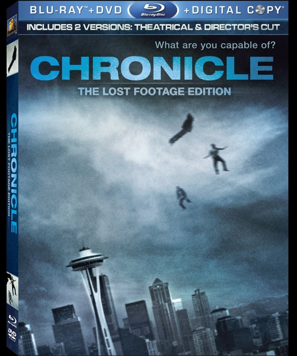 Chronicle on DVD and Blu-ray - The Official Specs Are In!