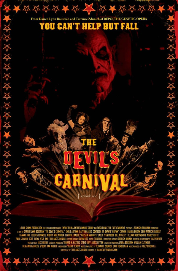 Take an Inside Look at the Make-Up F/X of The Devil's Carnival