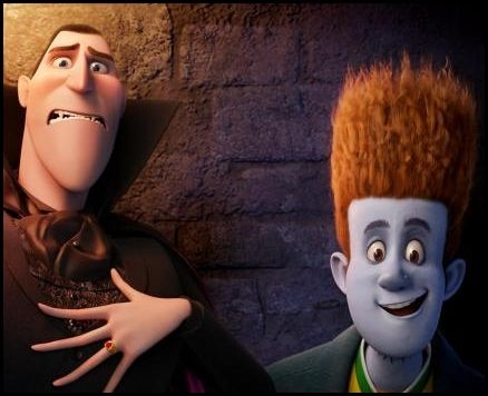 First Official Stills From Hotel Transylvania