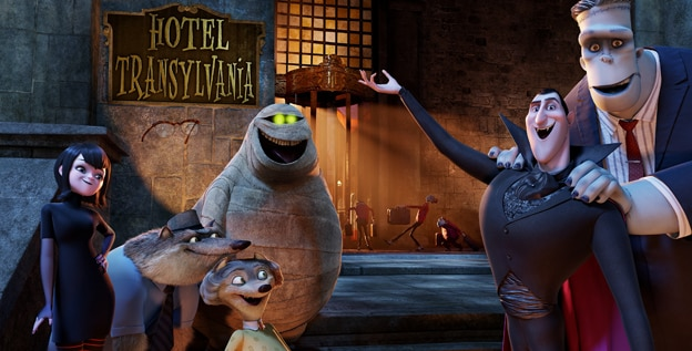 U.S. Trailer Premiere for Hotel Transylvania Checks In
