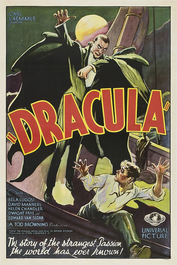 Rare Dracula Poster Sells for Big Bucks!
