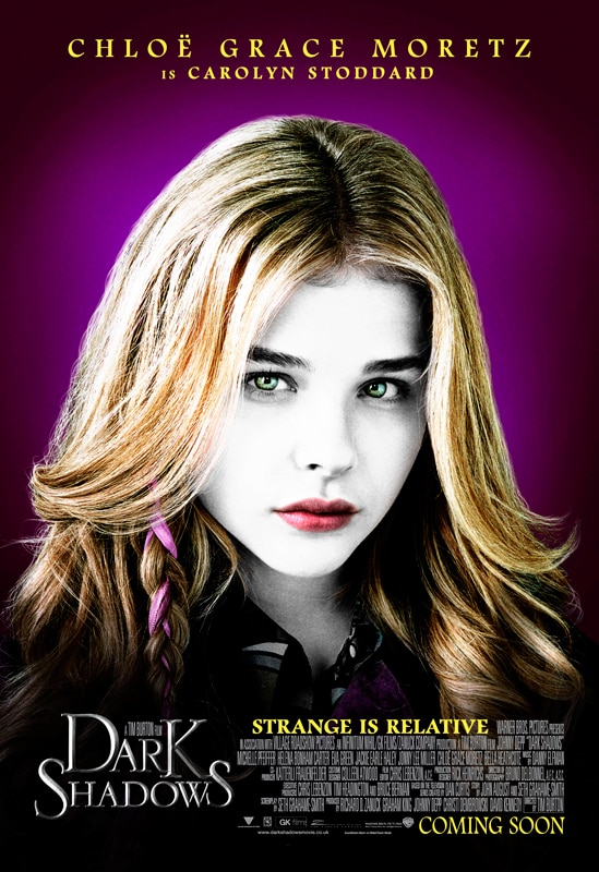 Nine Eye-Popping Dark Shadows Character Posters
