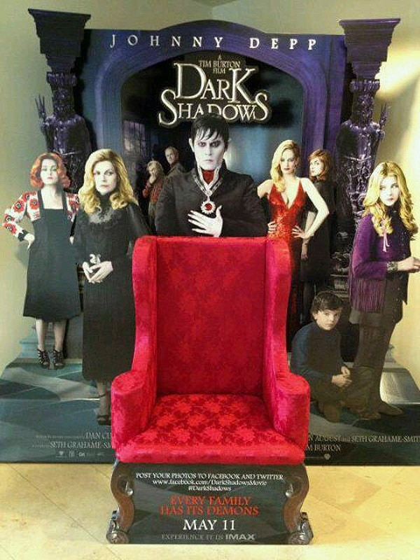 Lots of New Footage Found in Dark Shadows TV Spot; More Behind-the-Scenes Images!