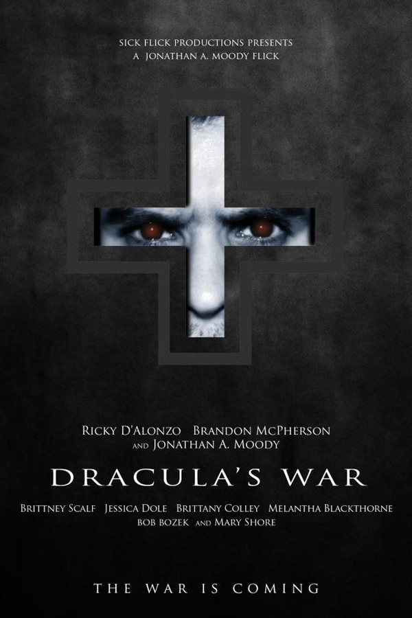 Jonathan A. Moody Announces Production of Dracula's War
