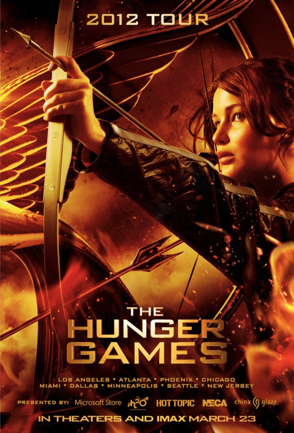 Hunger Games Tour Poster Ready to Fire