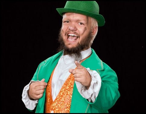 Official! Hornswoggle Playing the Leprechaun in WWE / Lionsgate Reboot