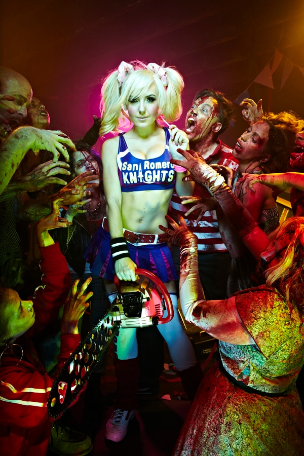 New Face Of Lollipop Chainsaw - Jessica Nigri
