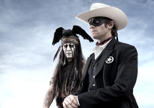 First Look at Johnny Depp and Armie Hammer in the Lone Ranger