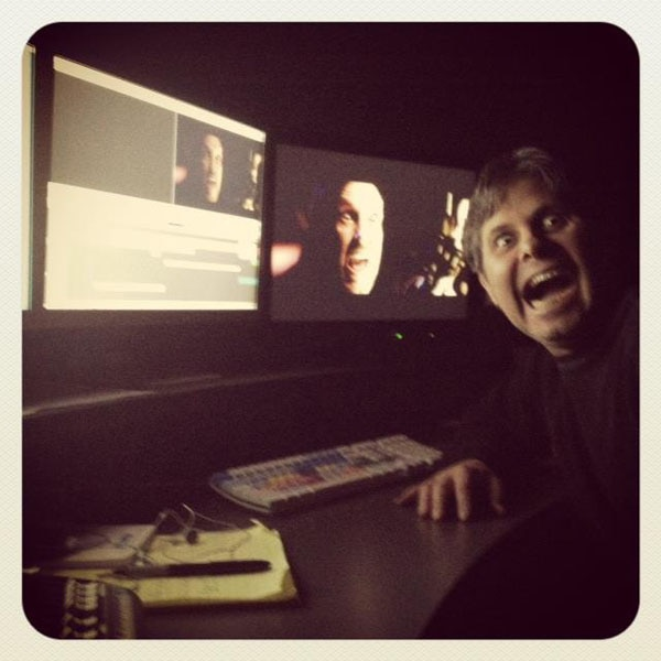 More Behind-the-Scenes Lords of Salem Photos - The Editing Bay!