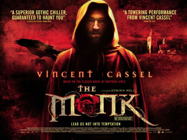 Vincent Cassel Beats off the Devil in The Monk
