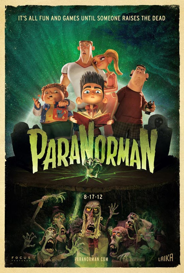 A New Trailer for ParaNorman Brings Some Kid Friendly Frights