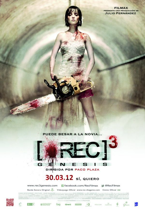 The Bride Has her Day in New REC 3: Genesis Clips