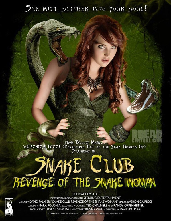 Early Word and Poster Art for Snake Club: Revenge of the Snake Woman