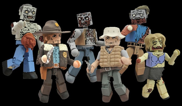The Walking Dead Minimates Now Available for Pre-Order!