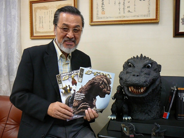 Classic Godzilla Actor Akira Takarada Wants in on New Godzilla Film! Let's Make it So!
