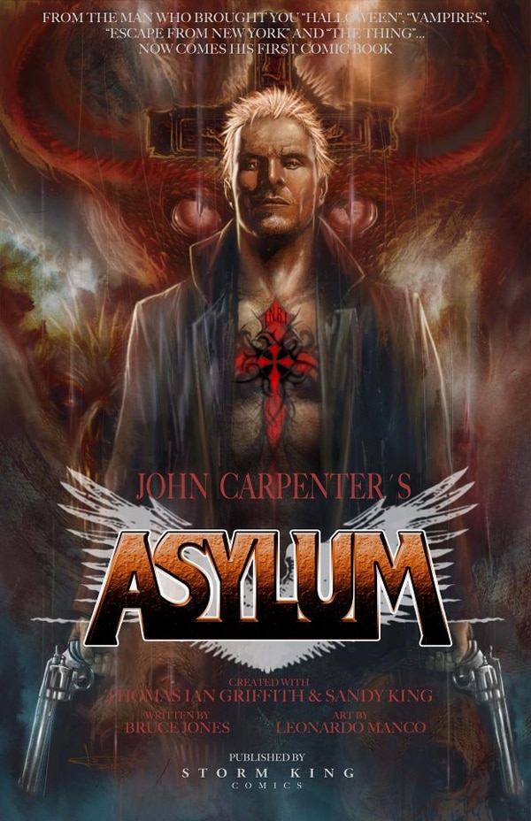 Take Your First Look into John Carpenter's Asylum