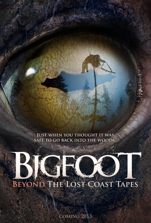 First Teaser Poster for Bigfoot: Beyond the Lost Coast Tapes