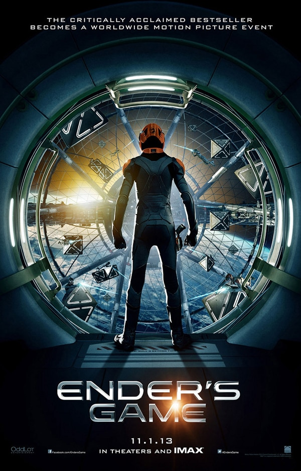 Harrison Ford and Asa Butterfield Introduce a Sneak Peek of the Ender's Game Teaser Trailer