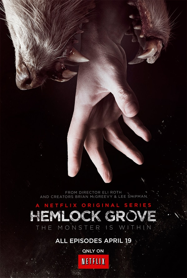New Poster Teases the Monster Within Hemlock Grove
