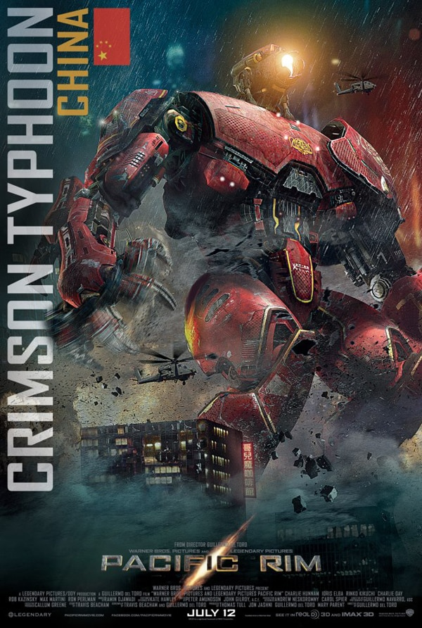 Pacific Rim - China's Crimson Typhoon Blows on In