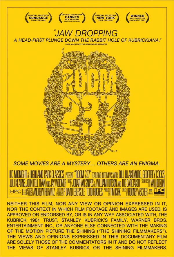Latest Poster for Room 237 is One Hell of a Brain Teaser