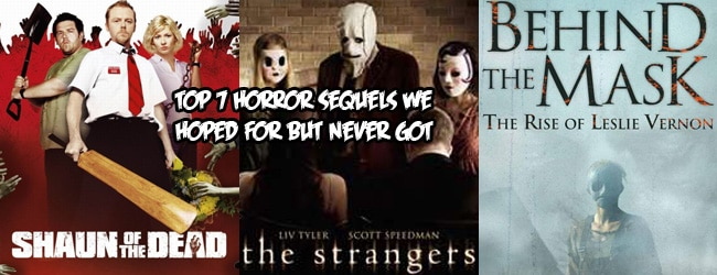 Top 7 Horror Sequels We Hoped For But Never Got