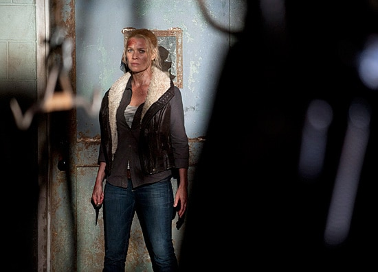 Andrea's Ready for a Fight in New Still from The Walking Dead Episode 3.14 - Prey