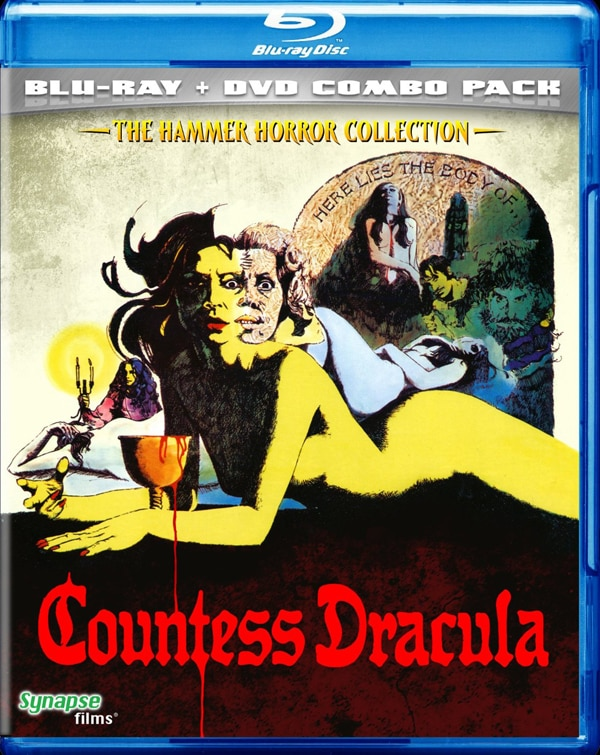 Synapse Releasing Hammer Classic Countess Dracula in a Blu-ray/DVD Combo Pack This May