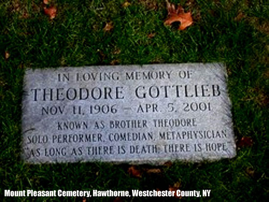 Brother Theodore's Final Resting Place
